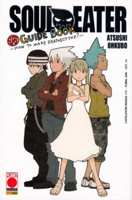 SOUL EATER SUPER GUIDE BOOK HOW TO MAKE DEATHSCYTHE?