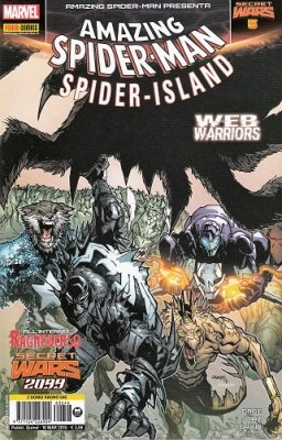 SPIDER-MAN 646 - L'UOMO RAGNO - AMAZING SPIDER-MAN PRESENTA 5 - SECRET WARS 5