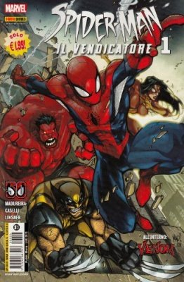 SPIDER-MAN UNIVERSE 6 COVER A (J. MADUREIRA) - SPIDER-MAN IL VENDICATORE 1