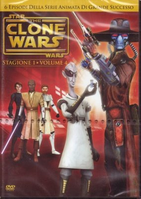 STAR WARS THE CLONE WARS 4 - DVD
