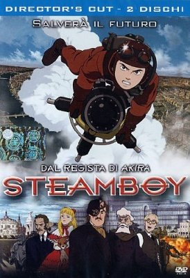 STEAMBOY DVD DIRECTOR'S CUT 2 DISCHI