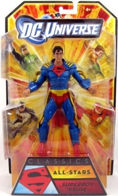 SUPERBOY PRIME DC UNIVERSE ALL-STARS SERIE 1 ACTION FIGURE