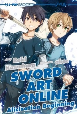 SWORD ART ONLINE ALICIZATION BEGINNING ROMANZO