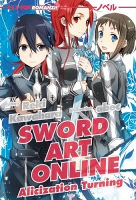 SWORD ART ONLINE ALICIZATION TURNING ROMANZO