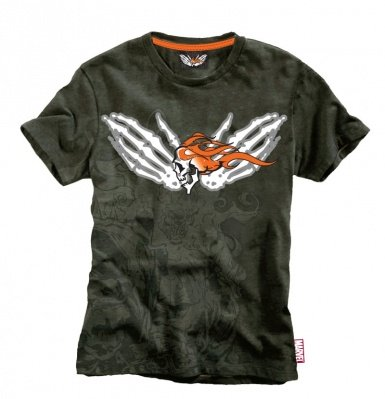 T-SHIRT GHOST RIDER MARVEL EXTREME - TG. L
