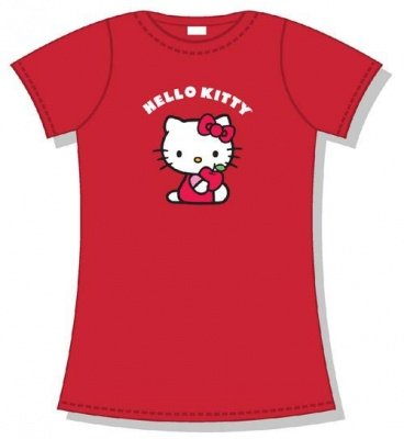 T-SHIRT HELLO KITTY APPLE - TG. L