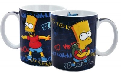 TAZZA BART SIMPSONS WHO WANTS TO KNOW