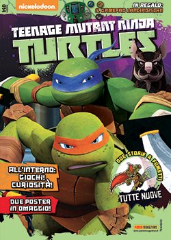 TEENAGE MUTANT NINJA TURTLES MAGAZINE 14 - TARTARUGHE NINJA 14
