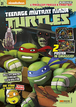 TEENAGE MUTANT NINJA TURTLES MAGAZINE 16 - TARTARUGHE NINJA 16