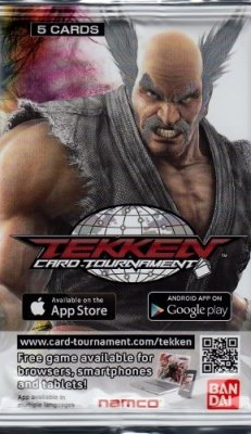TEKKEN CARD TOURNAMENT - BUSTA DI 5 CARTE