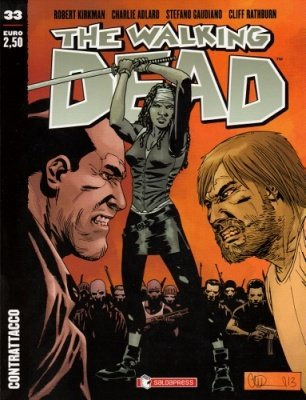 THE WALKING DEAD 33 - CONTRATTACCO COVER A