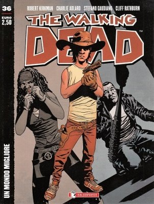 THE WALKING DEAD 36 - UN MONDO MIGLIORE COVER B