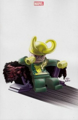 THOR 177 VARIANT COVER LEGO - THOR DIO DEL TUONO 7 MARVEL NOW!