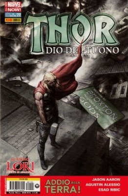 THOR 192 - THOR DIO DEL TUONO 22 ALL-NEW MARVEL NOW!