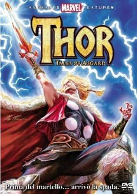 THOR TALES OF ASGARD DVD