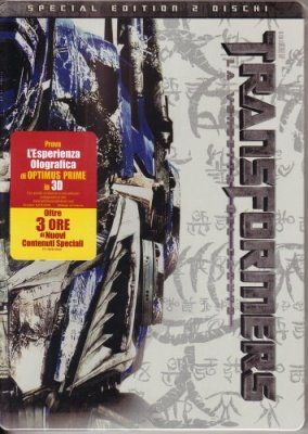 TRANSFORMERS LA VENDETTA DEL CADUTO SPECIAL EDITION STEEL BOOK 2 DVD