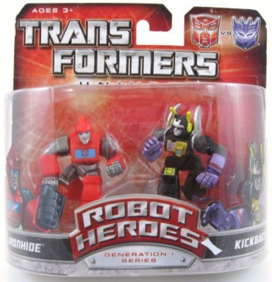 TRANSFORMERS UNIVERSE ROBOT HEROES GENERATION 1