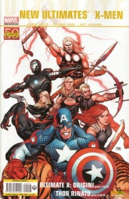 ULTIMATE COMICS 7 - NEW ULTIMATES 3 -  ULTIMATE X-MEN 1 E THOR RINATO 3