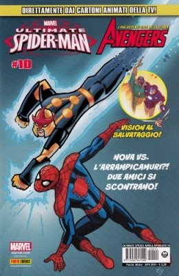 ULTIMATE SPIDER-MAN & GLI AVENGERS 10