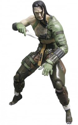 VAMP METAL GEAR SOLID 4 ACTION FIGURE