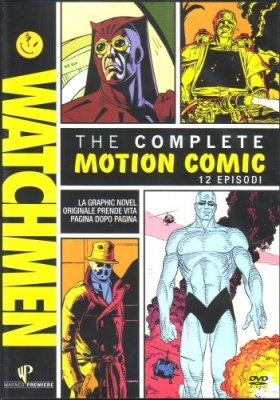 WATCHMEN THE COMPLETE MOTION COMIC - DVD