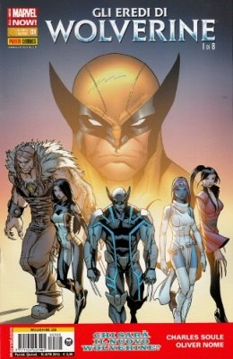 WOLVERINE 305 - GLI EREDI DI WOLVERINE 1 ALL NEW MARVEL NOW!