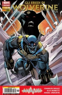 WOLVERINE 309 - GLI EREDI DI WOLVERINE 5 ALL NEW MARVEL NOW!