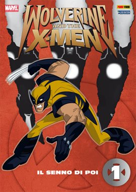 WOLVERINE AND THE X-MEN DVD 1 CON COFANETTO RACCOGLITORE