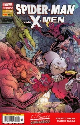 WOLVERINE E GLI X-MEN 41 - SPIDER-MAN E GLI X-MEN 2