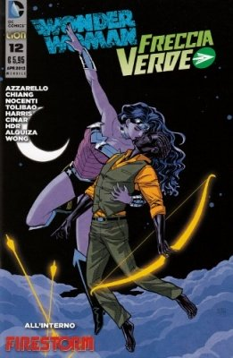 WONDER WOMAN E FRECCIA VERDE N. 12