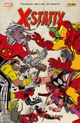 X-STATIX COLLECTION 6 - X- STATIX VS. AVENGERS
