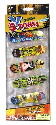 X STUNTZ MINI SKATEBOARD COLLECTION 5 PZ.